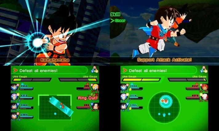 Dragon Ball Fusions valmiskuvat