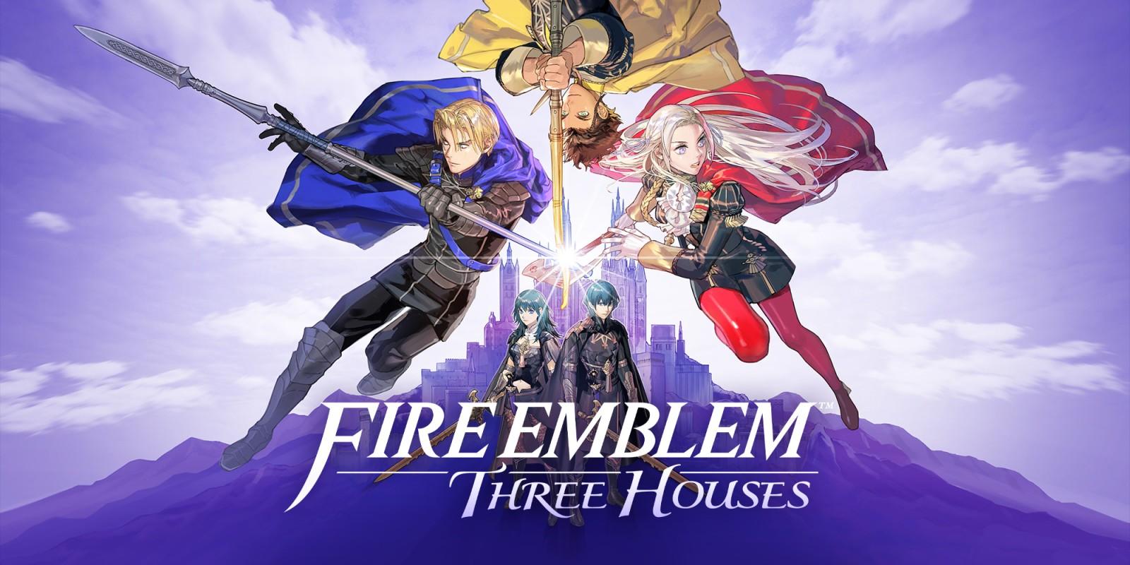 Fire Emblem Three Houses kansikuva