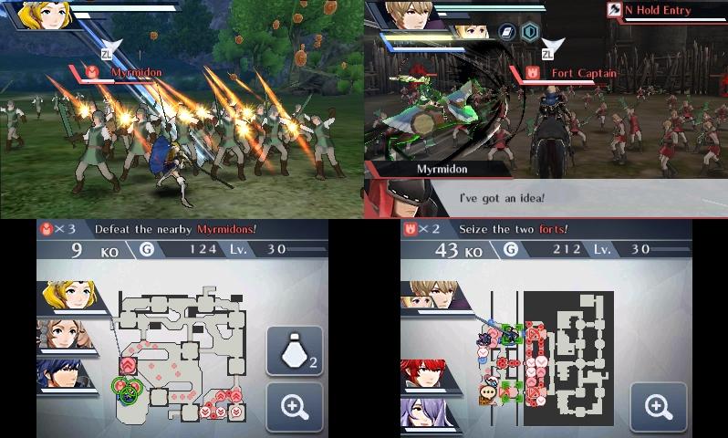 Fire Emblem Warriors 3DS kaksi taistelua kaksi sankaria