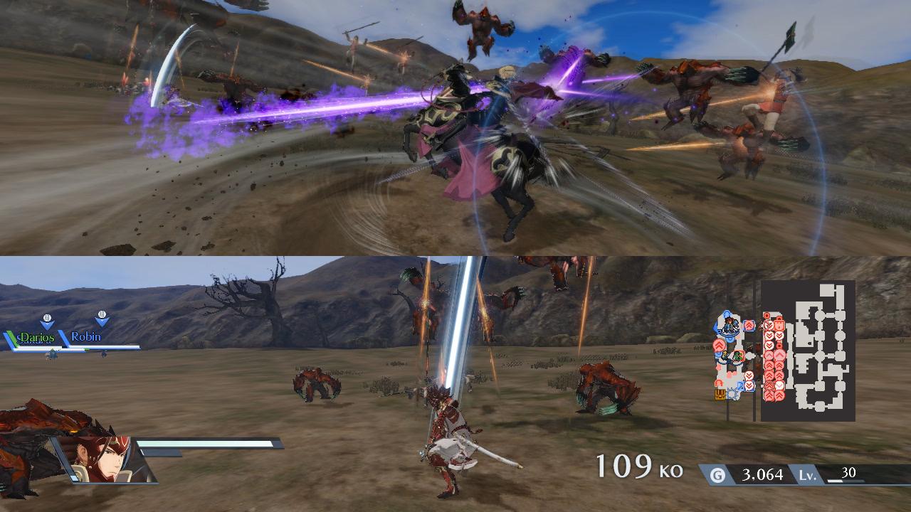 Fire Emblem Warriors Switch kaksinpeli