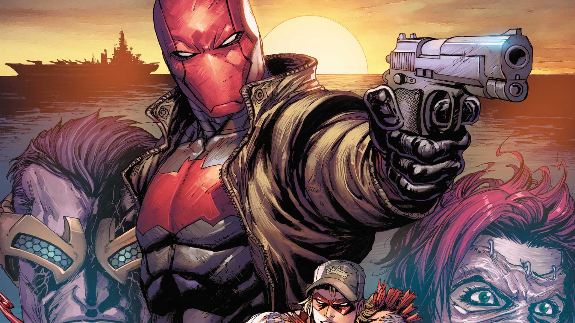 Red Hood Punahuppu DC Injustice