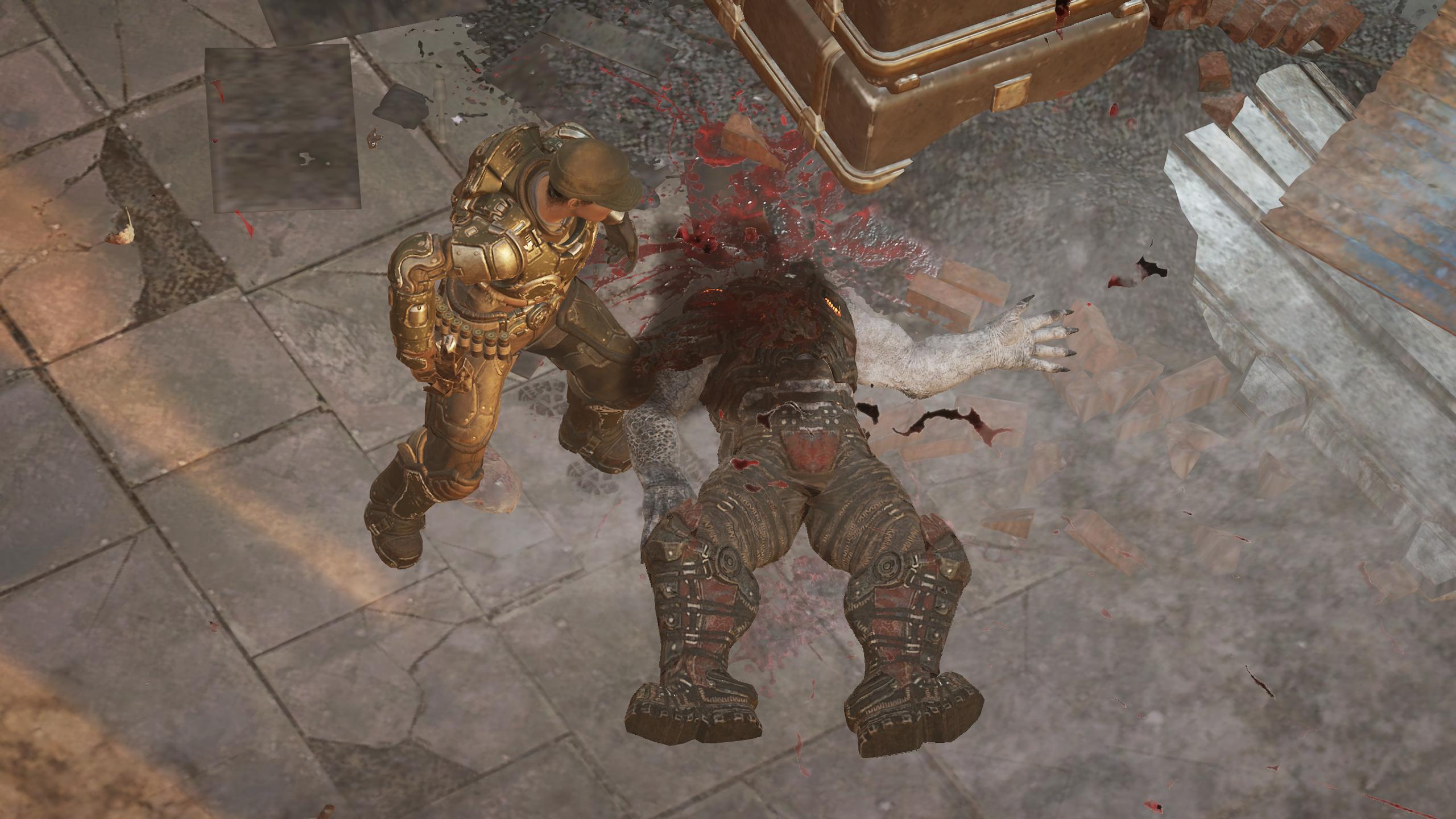 Gears Tactics mättöä