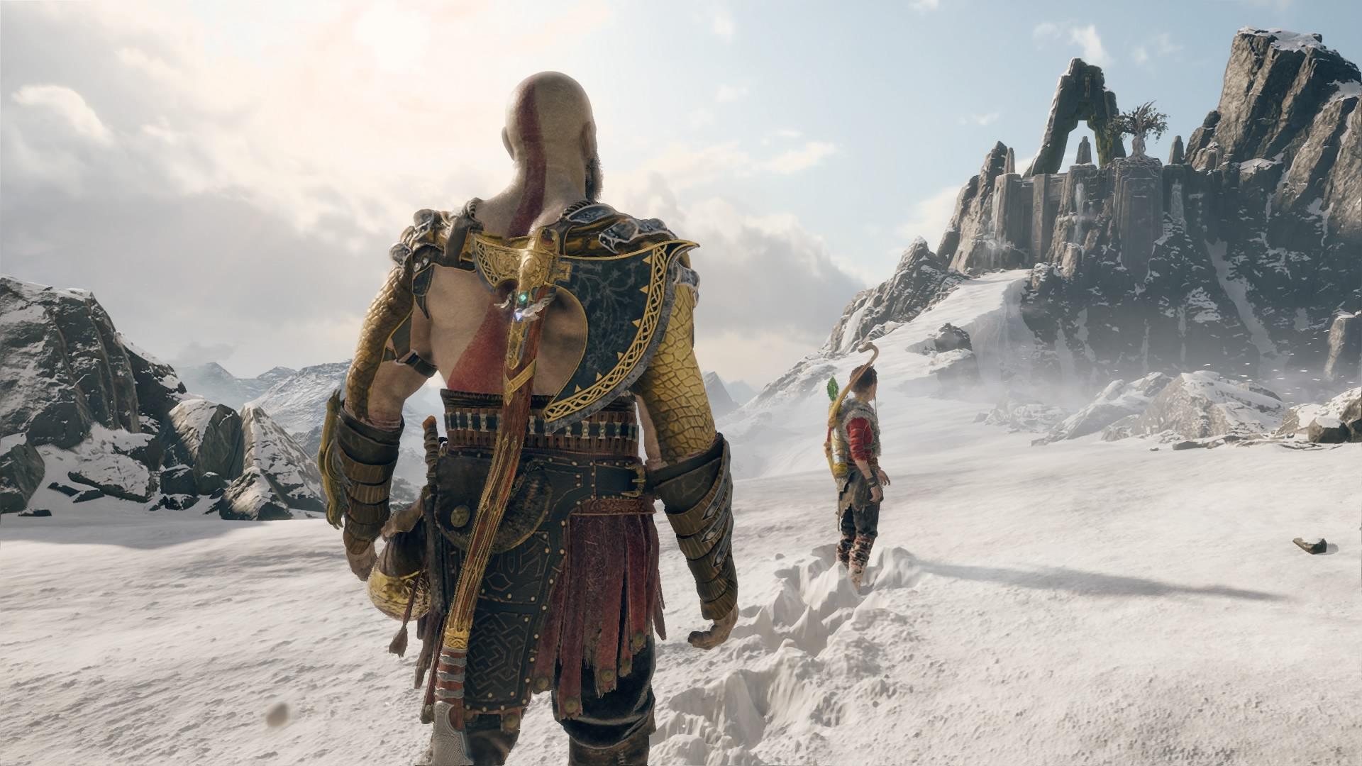 God of War: mitkä maisemat ja selkälihaksisto