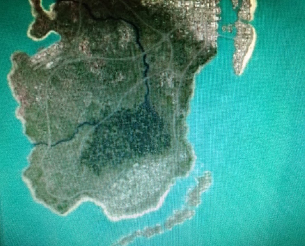 Grand Theft Auto VIn huhuttu kartta - Toukokuu 2021