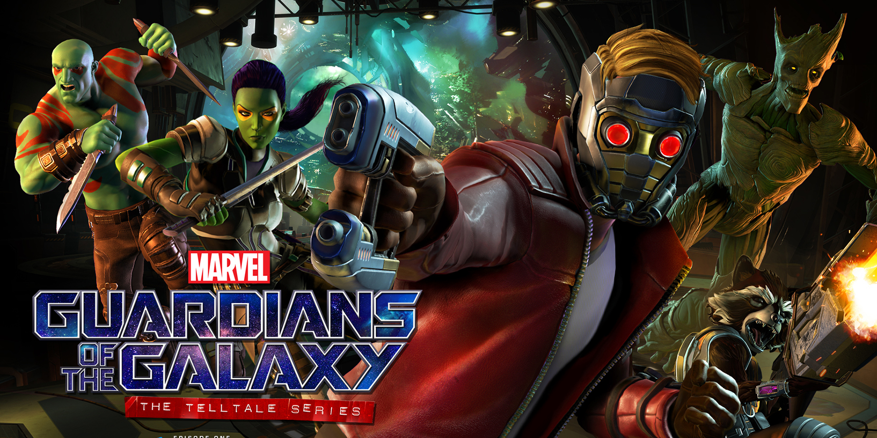 Guardians of the Galaxy Telltale Series kansi