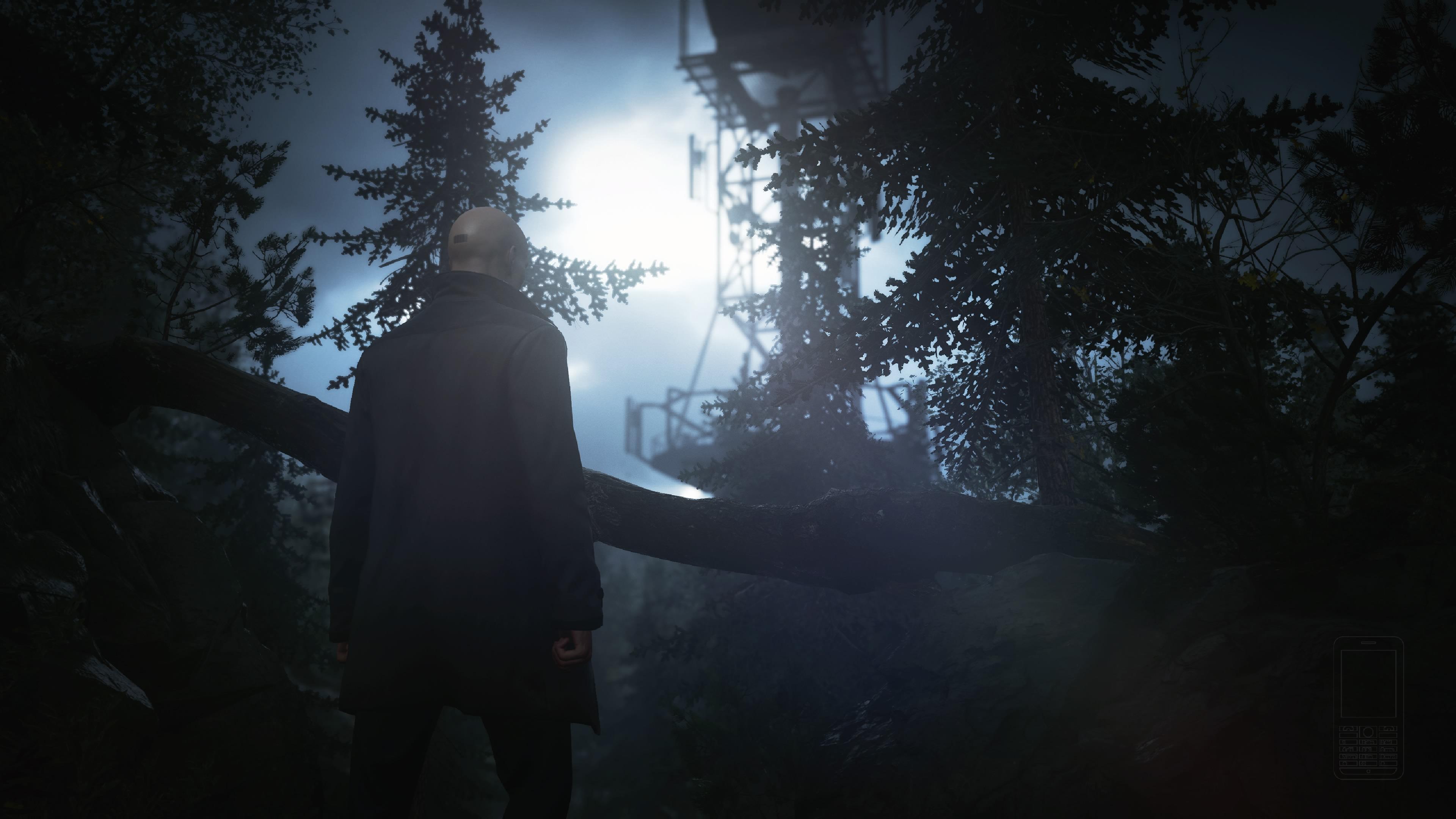 HITMAN 3 Agentti 47 metsässä kuin Alan Wake