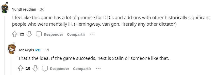 Heal Hitler Reddit kuvakaappaus DLC