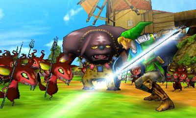 Hyrule Warriors Legends Link