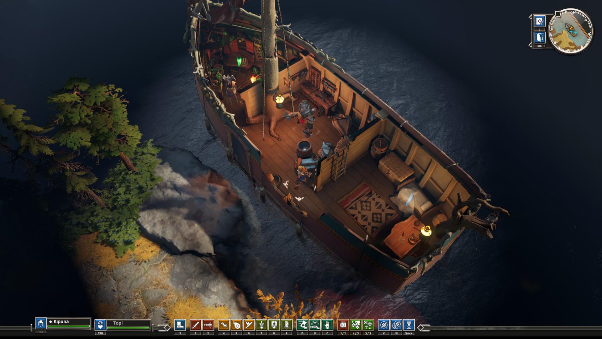 Iron Danger laiva