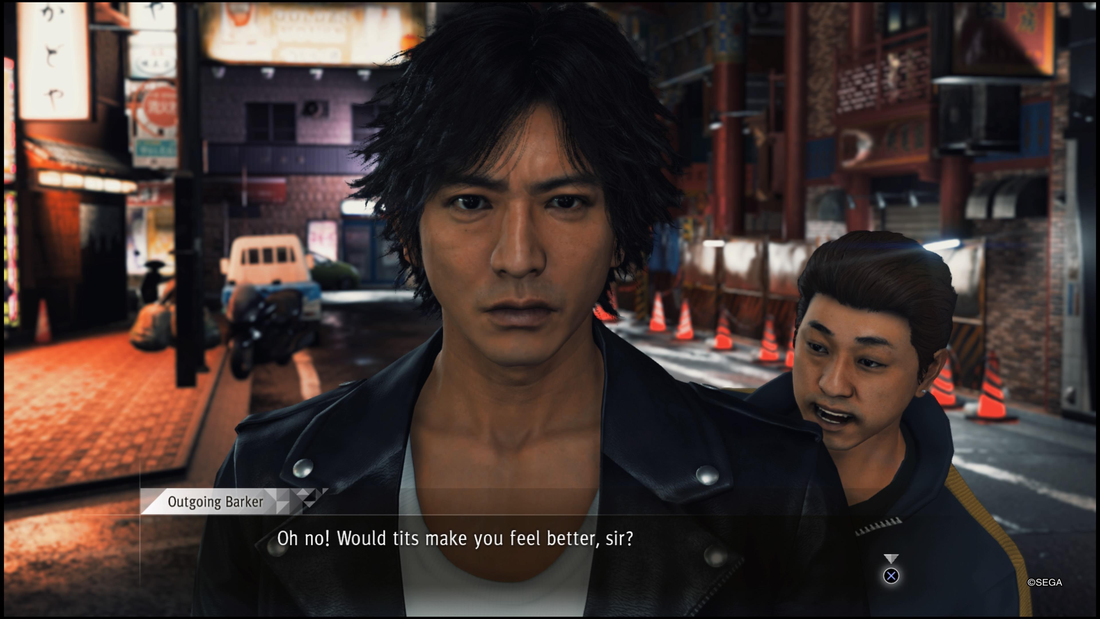 Judgment Yagamille ehdotellaan asioita
