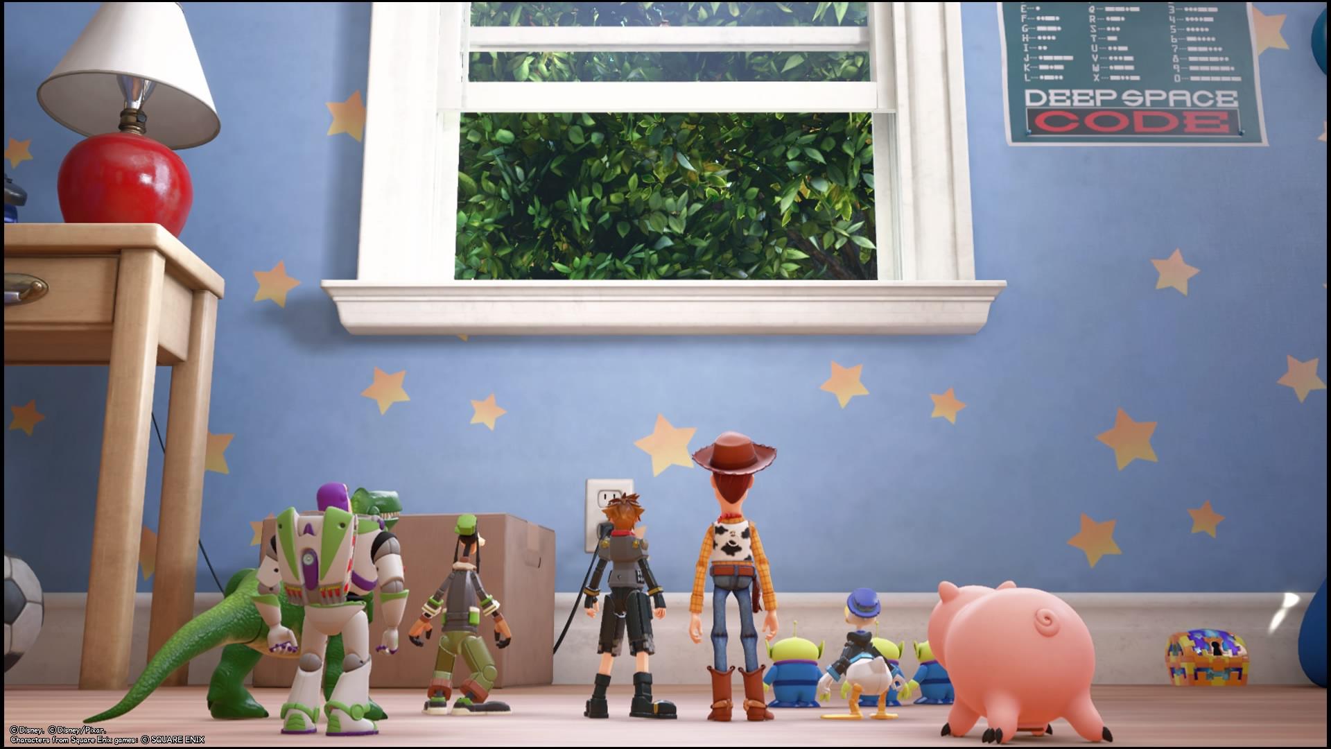 KINGDOM HEARTS Ⅲ Toy Story jengi
