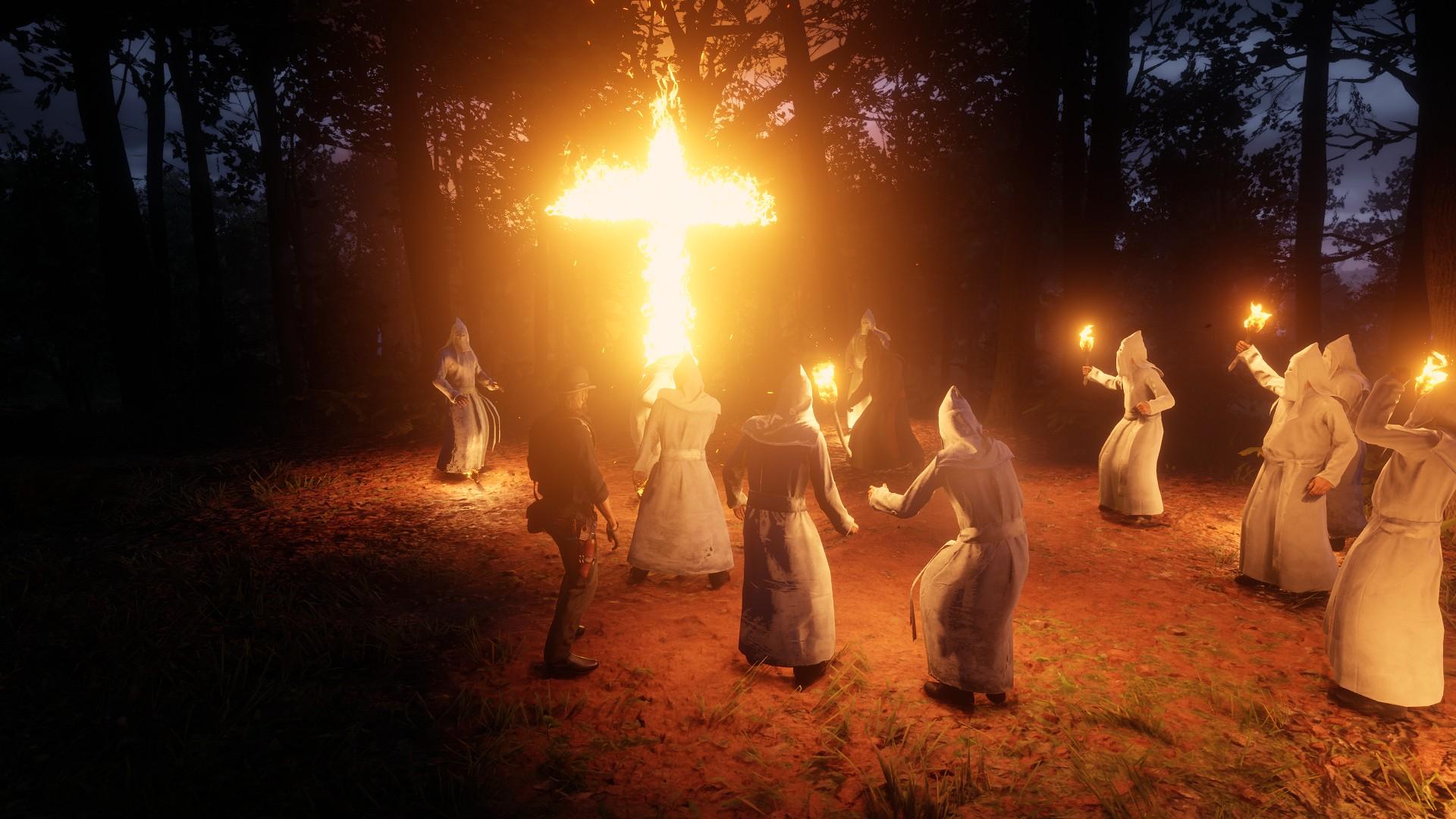 Red Dead Redemption 2: Ku Klux Klan