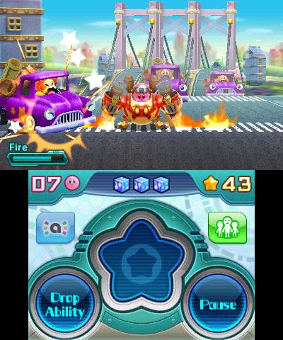 Kirby Planet Robobot robo liikenteessä