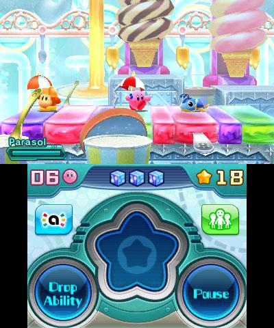 Kirby Planet Robobot sateenvarjo