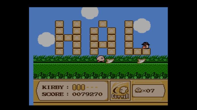 Kirby's Adventure NES HAL-huone