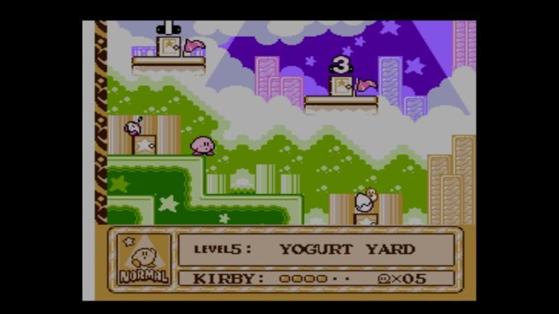 Kirby's Adventure NES kartta