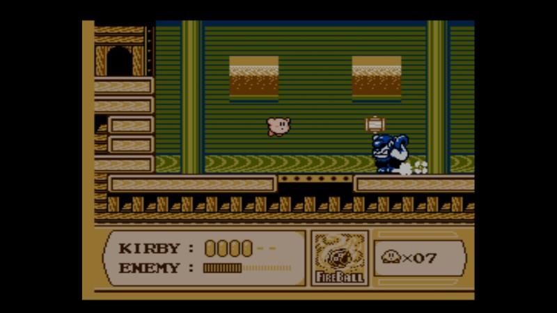 Kirby's Adventure NES välipomo
