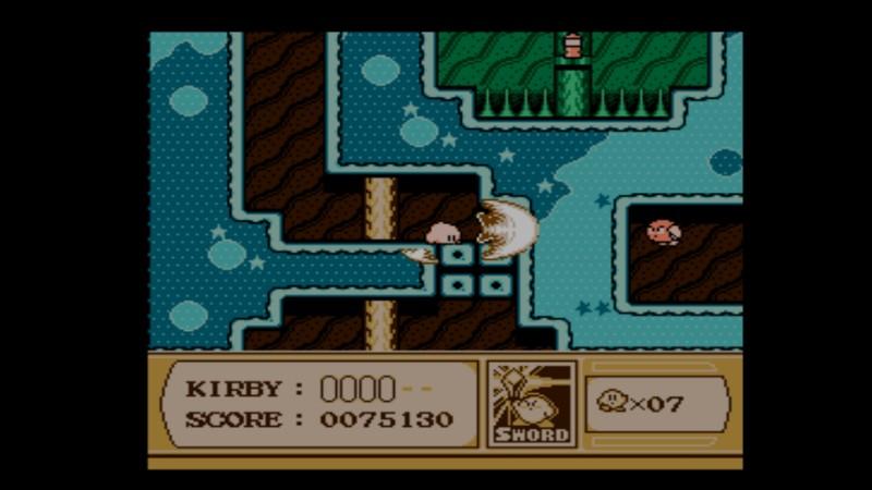 Kirby's Adventure NES miekkailua