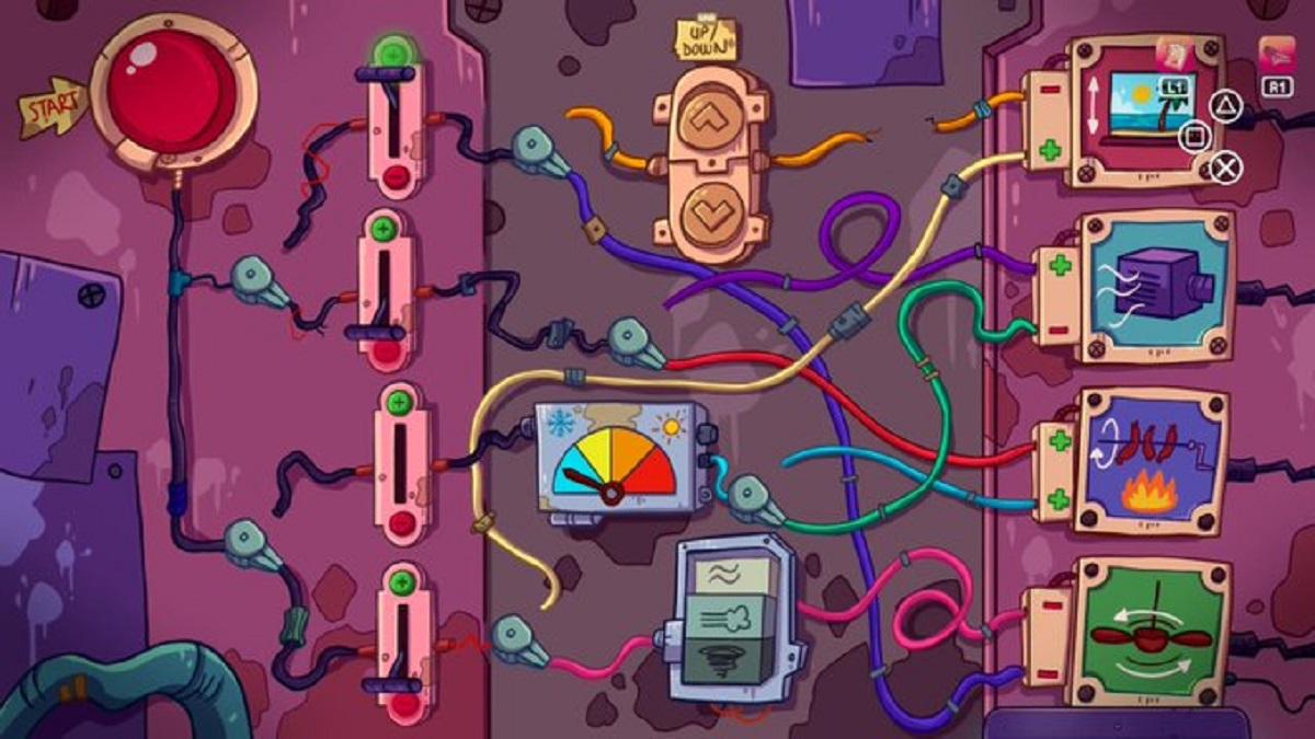 Larry ja sähkölaatikkopuzzle