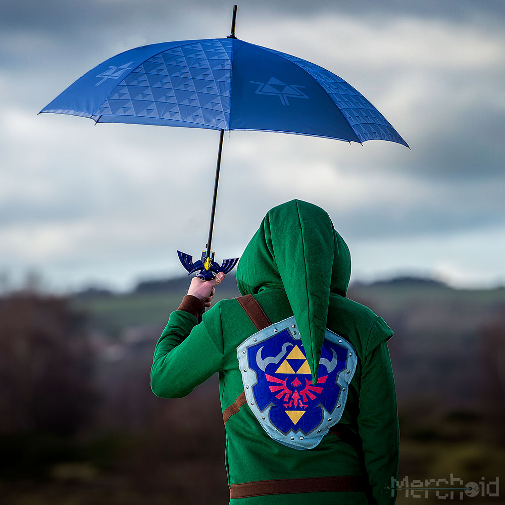 Legend of Zelda Master Sword Umbrella sateenvarjo kostyymi 1