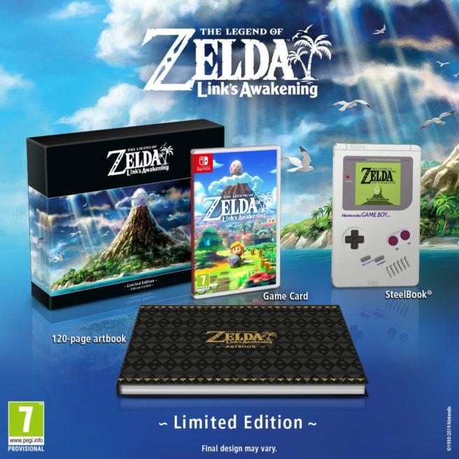 The Legend of Zelda Link's Awakening erikoisversio