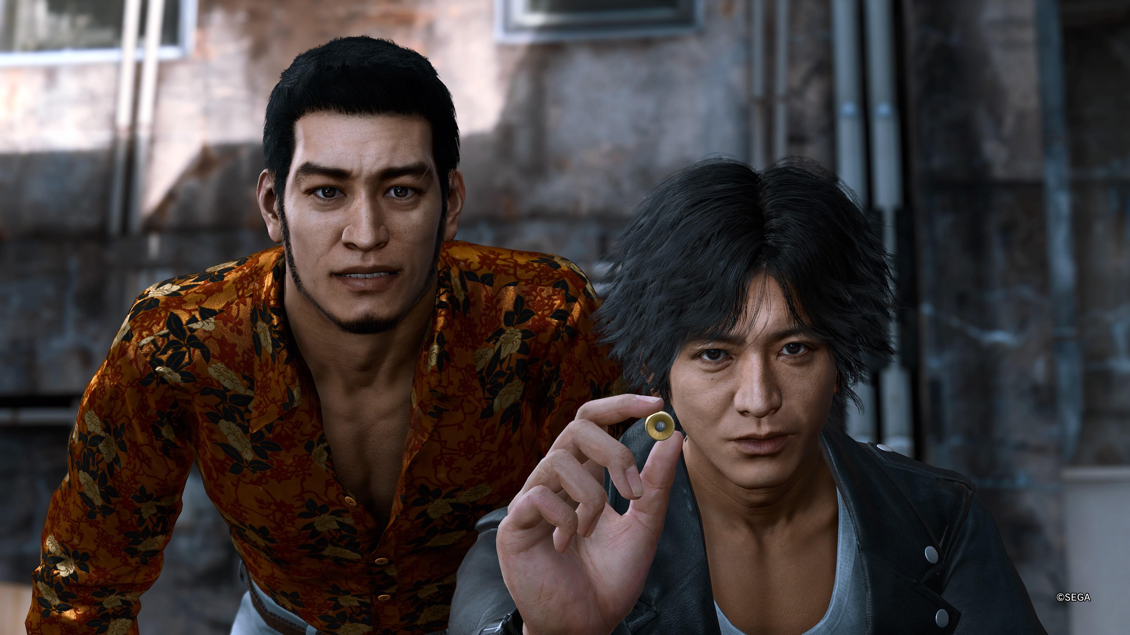 Lost Judgment Yagami ja Kaito