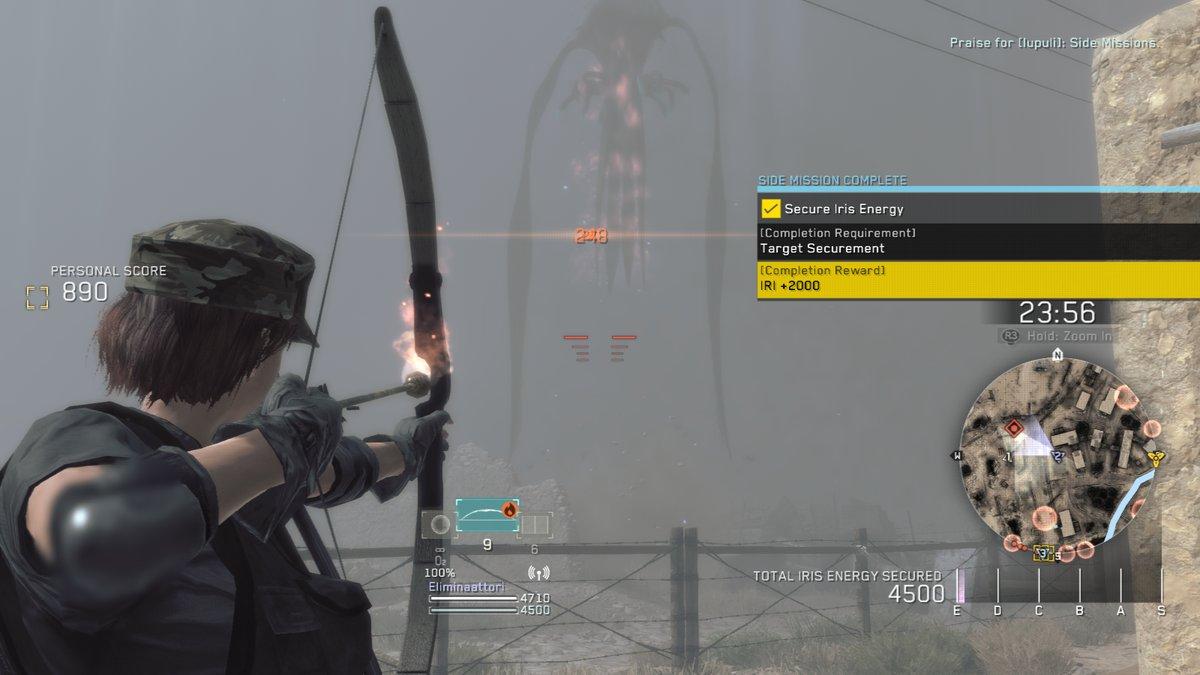 Metal Gear Survive Online Ammutaan pomoa tulinuolilla