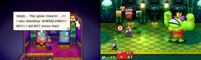 Mario & Luigi Superstar Saga Bowser's Minions arcade pomotaisto