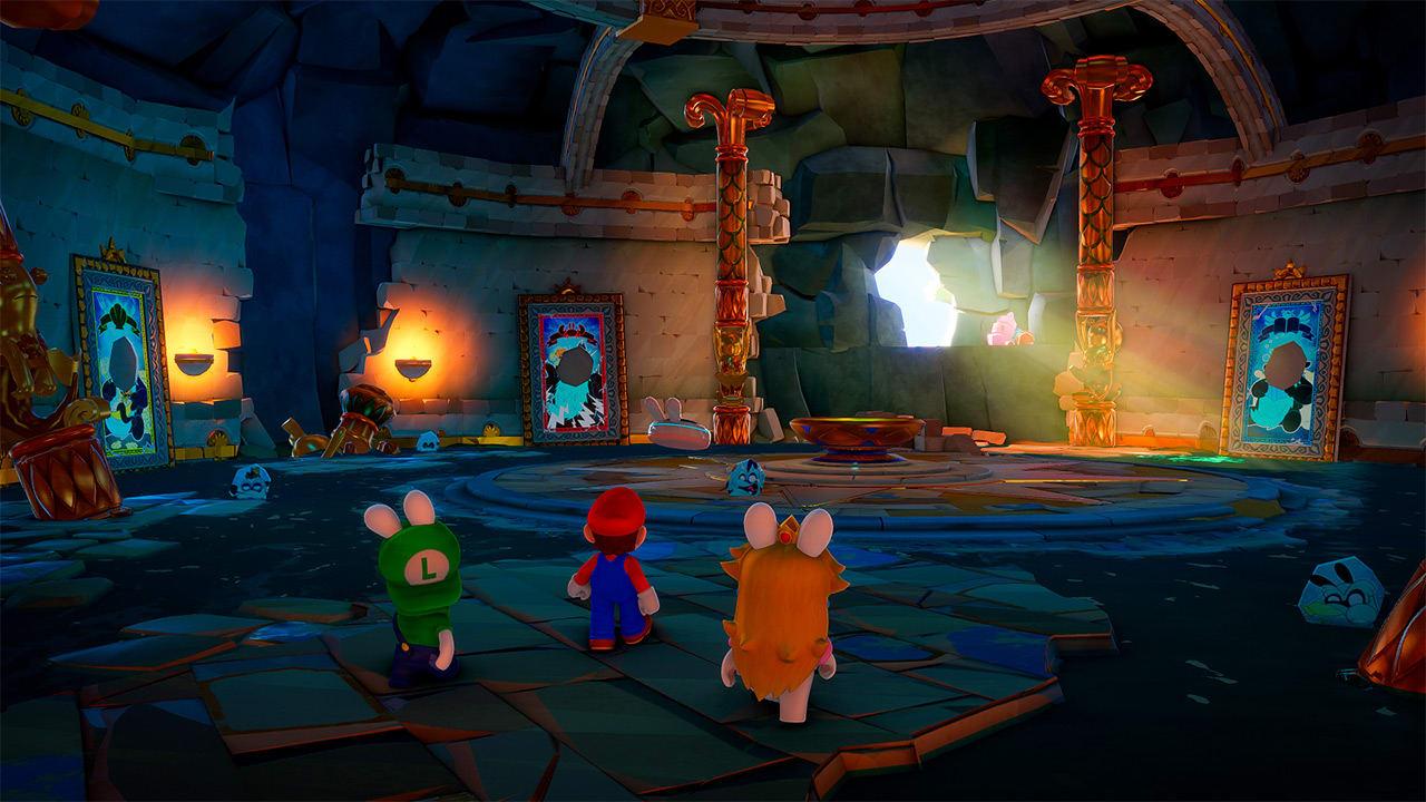 Mario + Rabbids Sparks of Hope on meinaan pimeää