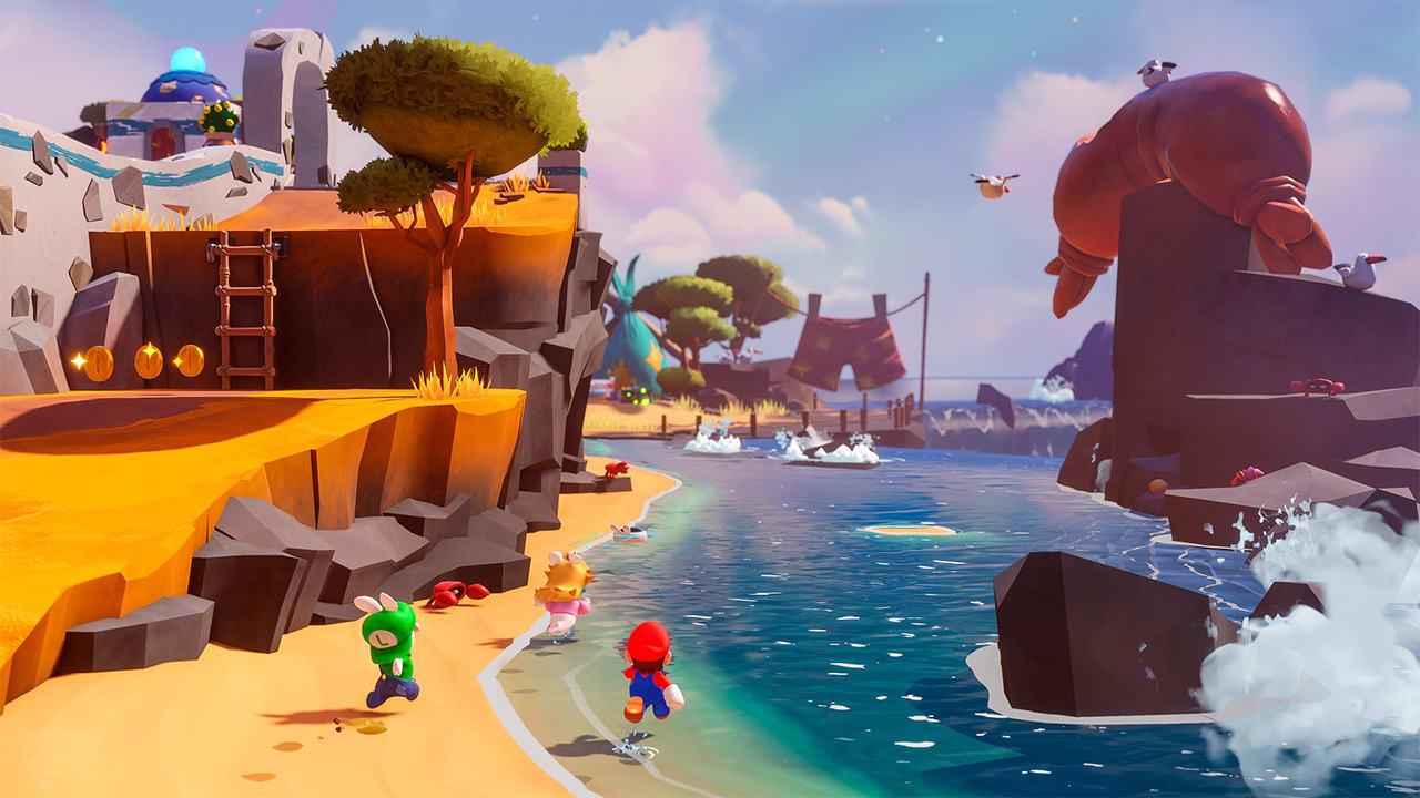 Mario + Rabbids Sparks of Hope rannalla