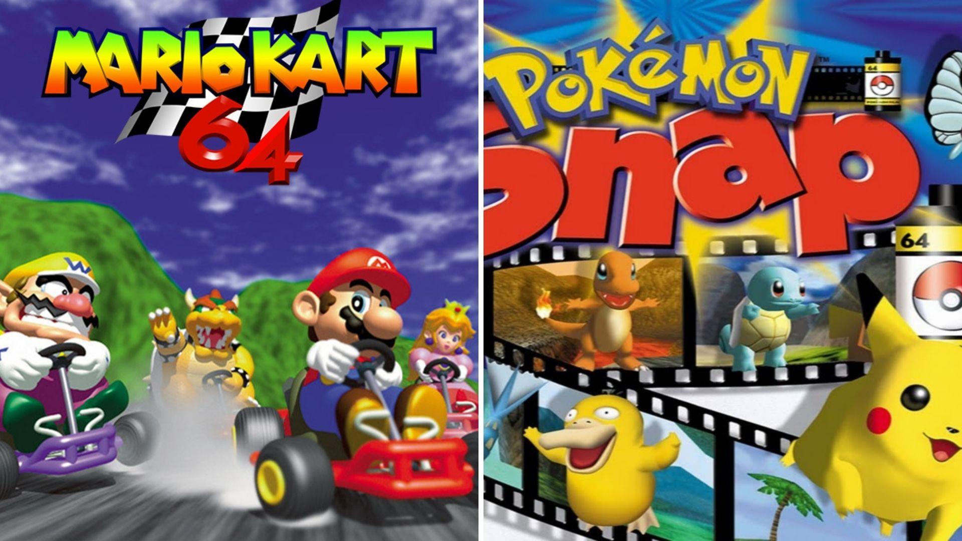 Mario Kart 64 Pokemon Snap