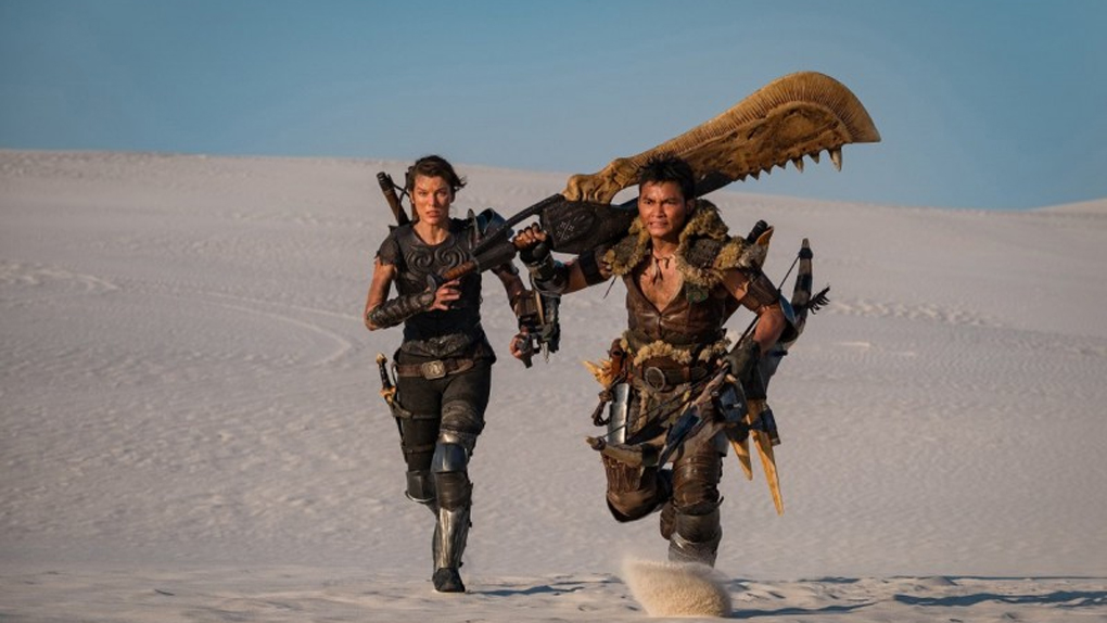 Monster Hunter elokuva Milla Jovovich