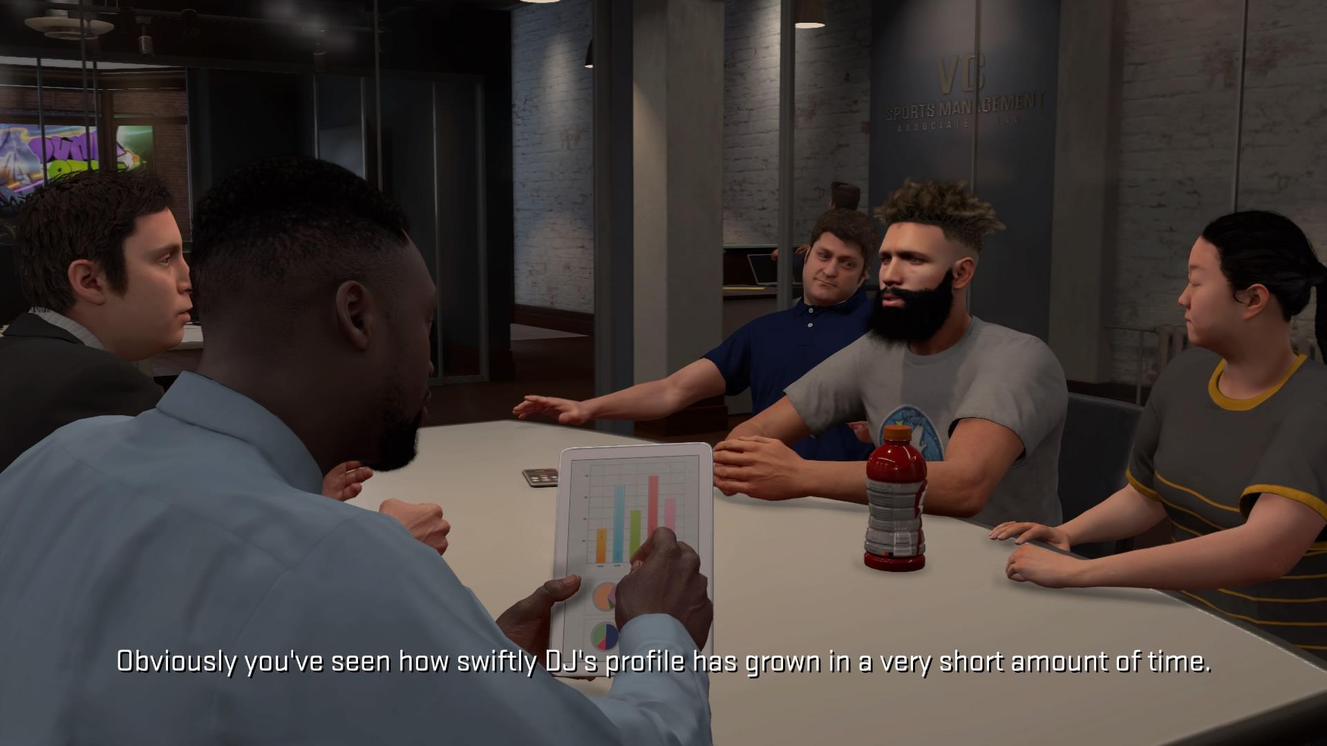 NBA 2K18 Sopimusneuvottelut