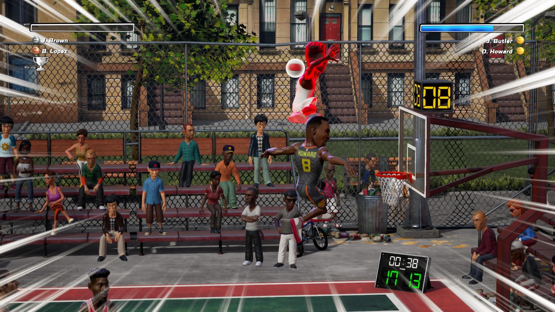 NBA Playgrounds fail