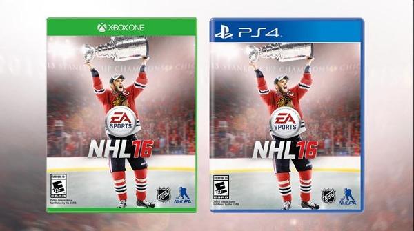 NHL 16 uusi kansi