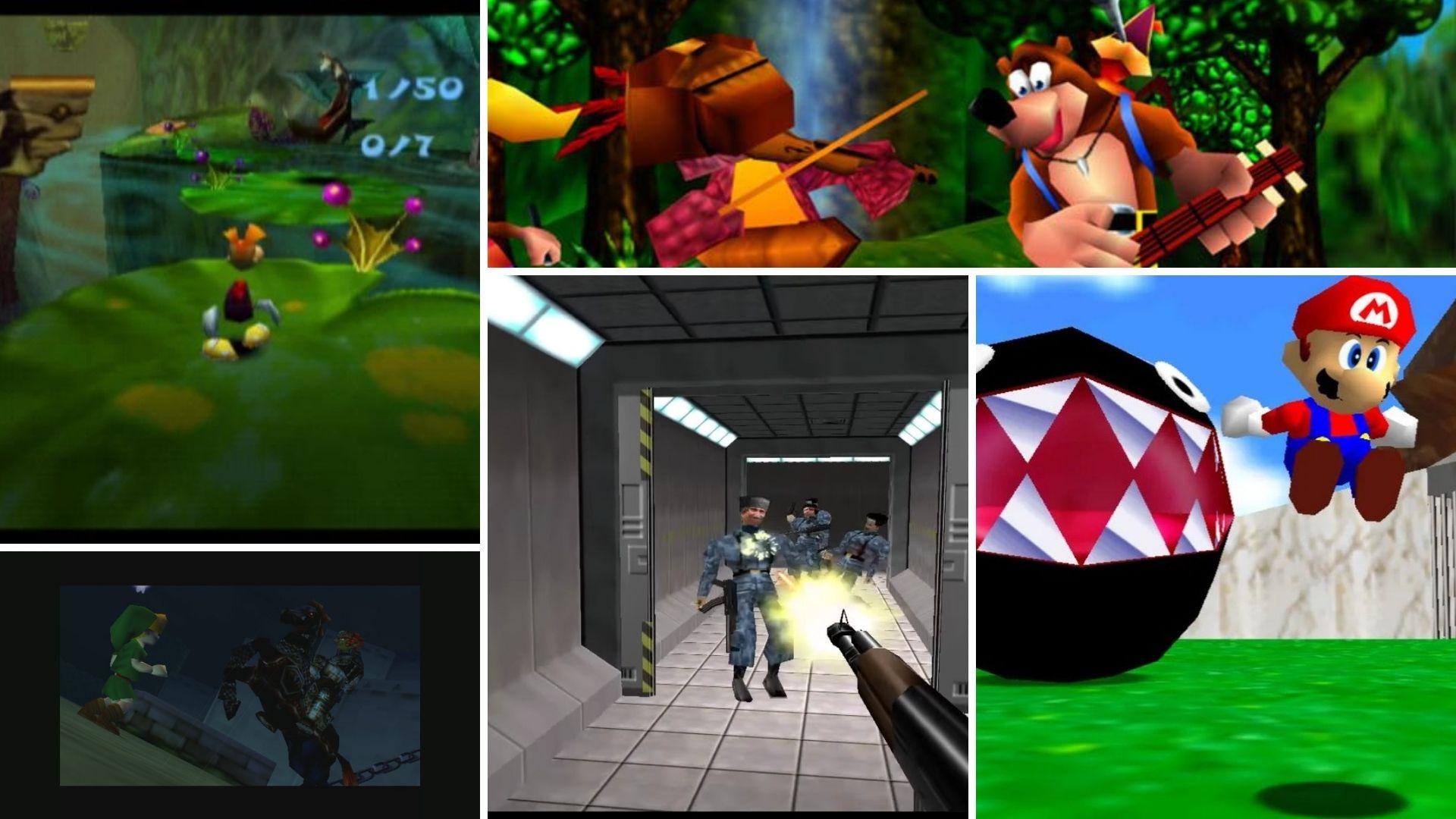 Nintendo 64 eri pelejä