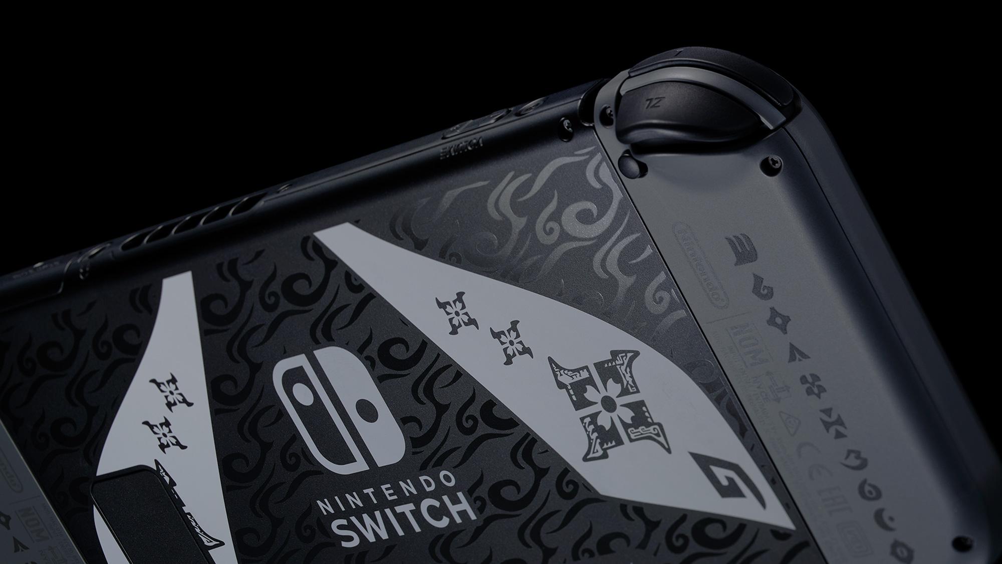 Nintendo Switch Monter Hunter Rise paketti bundle konsoli