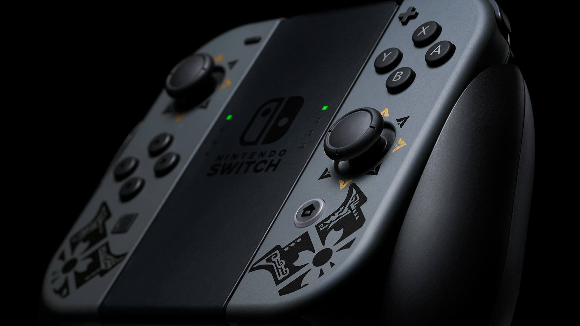 Nintendo Switch Monter Hunter Rise paketti bundle ohjain