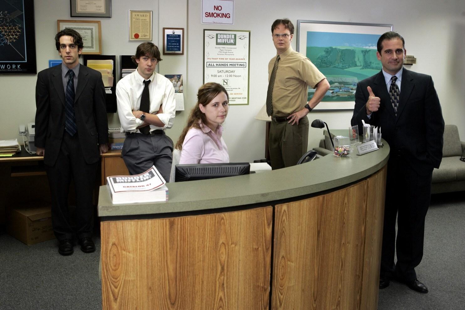 The Office USA Dunder Mifflin työntekijät