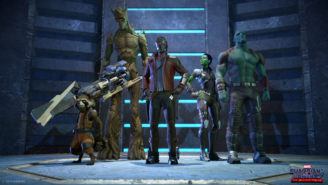 Guardians of the Galaxy Telltale Series Marvel hahmot