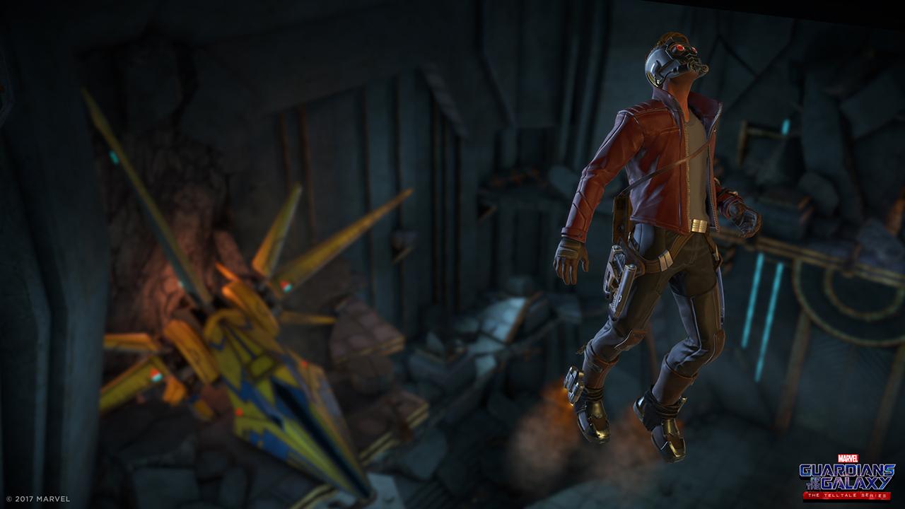 Guardians of the Galaxy Telltale Series Star-Lord