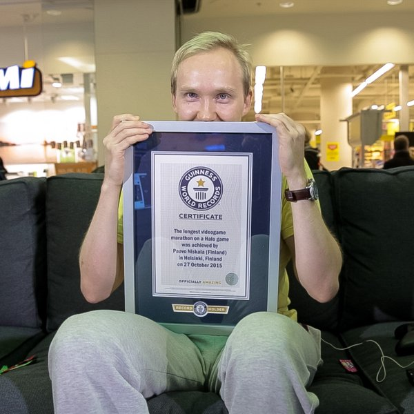Paavo Niskala Guinness World Record