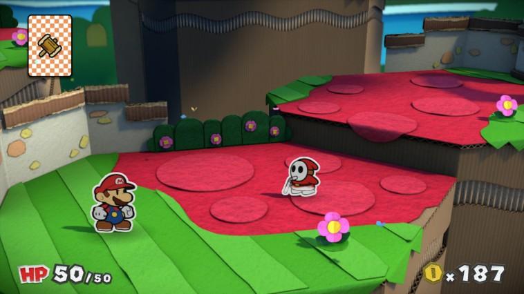 Paper Mario Color Splash taistelu