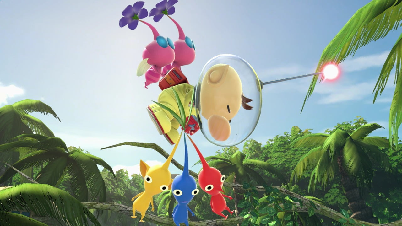 Pikmin-hahmoja Super Smash Bros. Ultimatessa