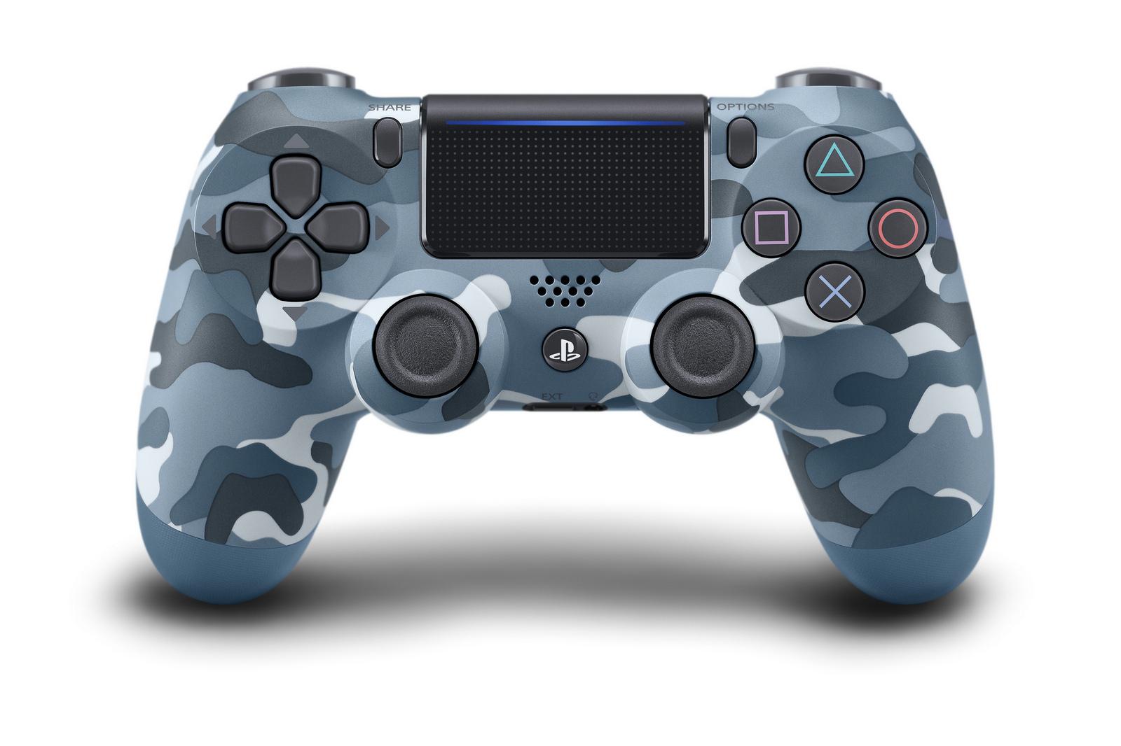 PlayStation 4 Dualshock 4 Blue Camoflage