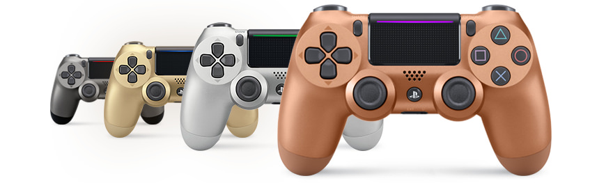 PlayStation 4 Dualshock 4 metallivärit