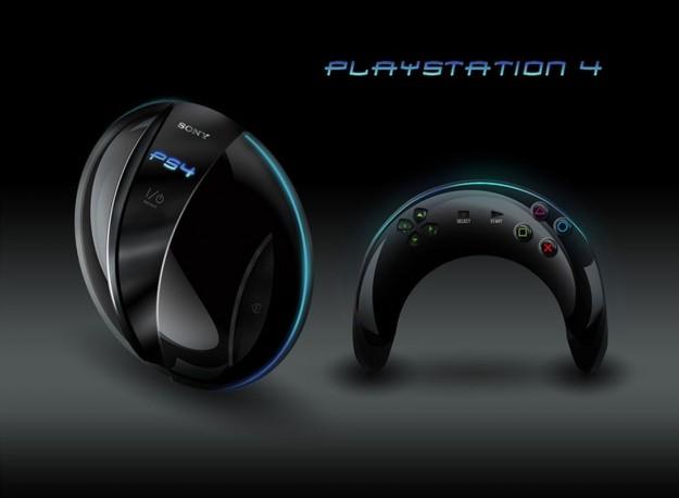 PlayStation 4 mockup malli frisbee