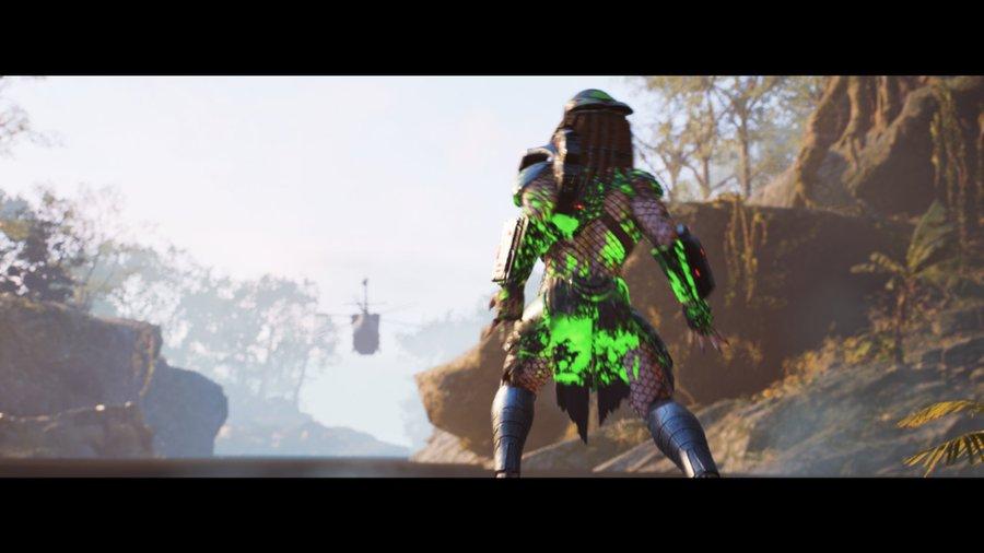 Predator saalis pääsi karkuun
