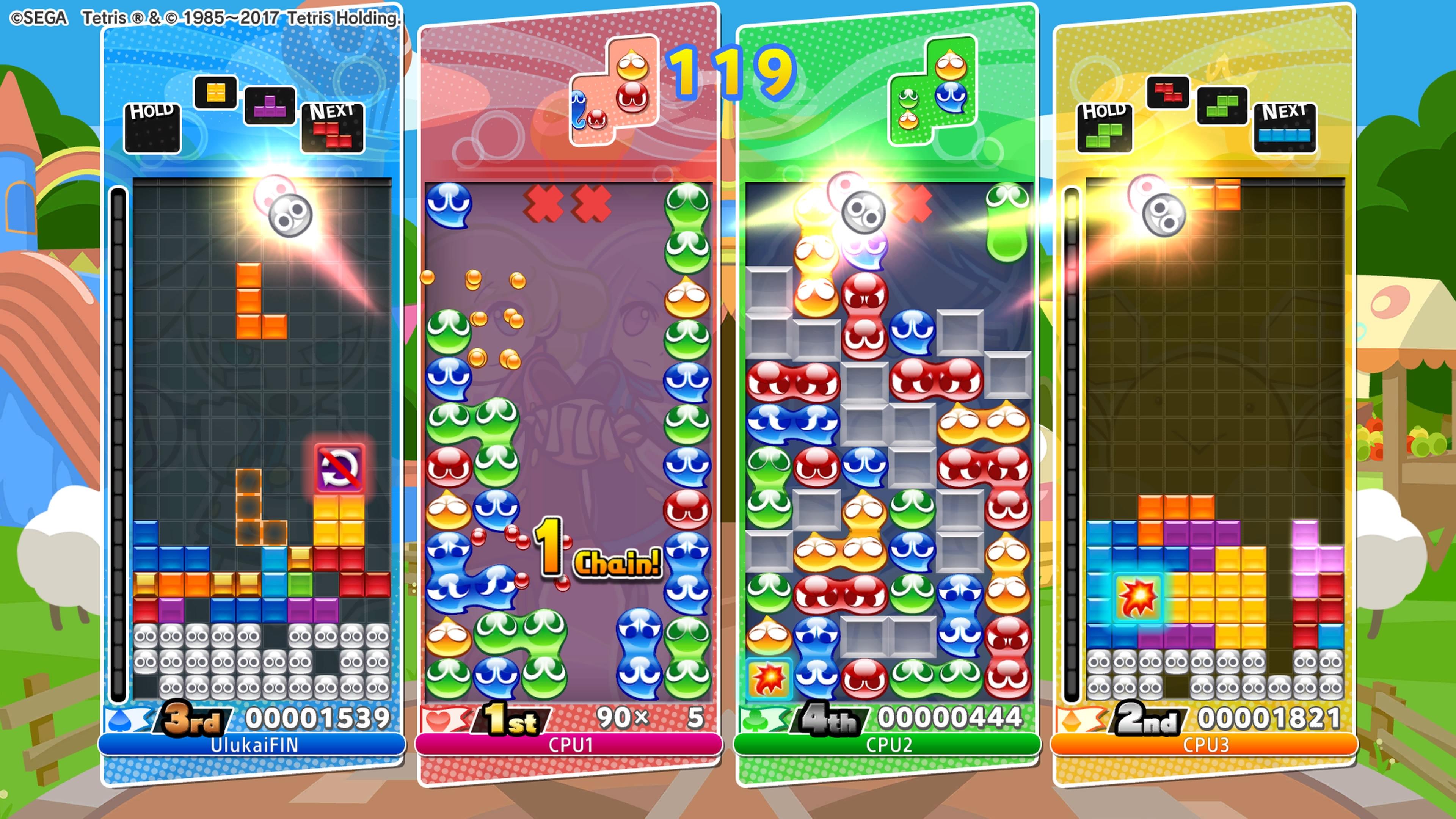 Puyo Puyo Tetris Party-moodi
