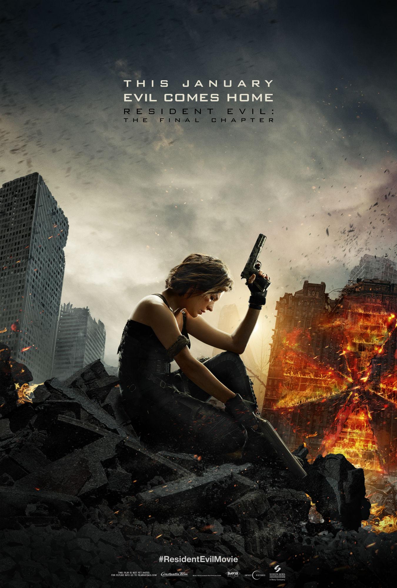 Resident Evil: The Final Chapter juliste